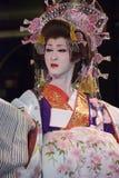 Esecutore di Kabuki Immagini Stock