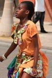 Esecutore giamaicano della via Immagine Stock