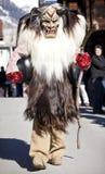 Esecutore in un costume tradizionale di Tschaggatta Fotografia Stock Libera da Diritti
