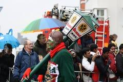 Esecutori della via di carnevale a Maastricht Fotografie Stock Libere da Diritti