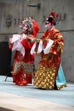 Esecutori di opera di Cantonese: Principessa patriottica Immagini Stock