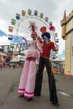 Esecutori Luna Park Fotografia Stock