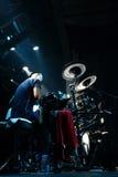 Artista Omar Hakim del batterista Fotografie Stock Libere da Diritti