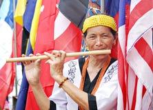 Eseguendo per la Malesia fotografia stock