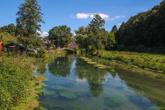 Eselsburger Tal (Germany). Summer Landscape / Eselsburger Tal (Germany Royalty Free Stock Image
