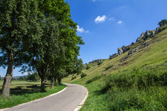 Eselsburger Tal (Germany) Stock Images