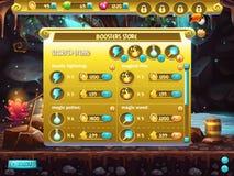 Esempio dei ripetitori di vendite del deposito per i giochi di computer illustrazione di stock