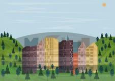 Esempio del microclima royalty illustrazione gratis