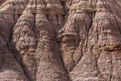 Esempio di alterazione causata dagli agenti atmosferici di erosione vicino a Escalante Utah U.S.A. immagini stock libere da diritti