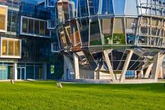 esempio di architettura moderno Immagine Stock Libera da Diritti