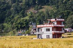 Esempio di architettura nepalese Fotografie Stock