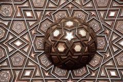Esempio di arte dell'ottomano degli intarsi di madreperla dal Turco di Costantinopoli fotografie stock libere da diritti