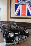Esempio senza macchia di Triumph TR3 di MG 1957, su esposizione, museo dell'automobile di Saratoga, 2015 Immagine Stock Libera da Diritti