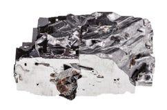 Esemplare della roccia della galena isolato Immagine Stock Libera da Diritti