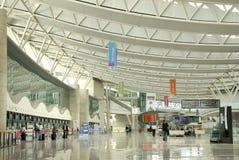 Esenboga internationaler Flughafen, Ankara, die Türkei Stockbilder