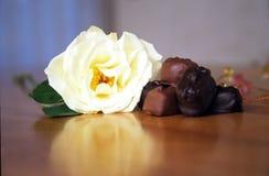 Esencial de la tarjeta del día de San Valentín Fotografía de archivo