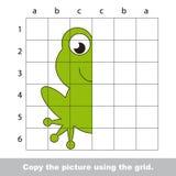 Esercitazione del disegno per i bambini illustrazione di stock