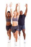 Esercitazione della gente di forma fisica Fotografie Stock Libere da Diritti