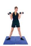 Esercitazione di forma fisica Fotografia Stock