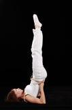 Esercitazione di Pilates fotografie stock