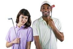 Esercitazioni di golf Fotografia Stock Libera da Diritti