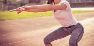 Eserciti il vostro corpo ogni giorno immagine stock
