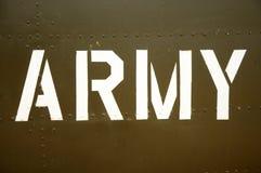 Esercito fotografie stock