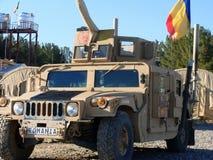 Esercito americano Humvee Fotografie Stock Libere da Diritti