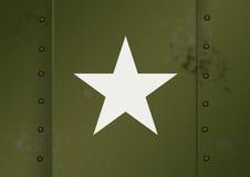 Esercito americano WWII Fotografia Stock Libera da Diritti