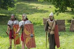 Esercito antico romano Immagini Stock