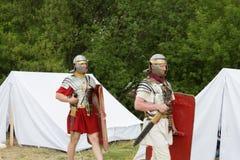 Esercito antico romano Fotografia Stock