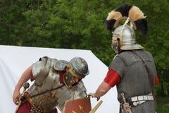 Esercito antico romano Immagine Stock