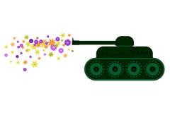 Esercito del fiore Immagine Stock