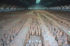 Esercito del guerriero di terracotta, Xian China Fotografia Stock Libera da Diritti