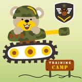 Esercito dell'orso Immagini Stock
