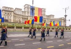 Esercito della protezione nazionale della Romania Immagini Stock Libere da Diritti