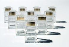 Esercito della rete di UTP Immagine Stock