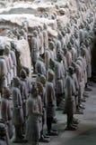 Esercito di terracotta Fotografie Stock