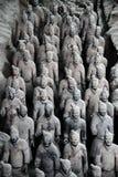 Esercito di terracotta Fotografia Stock