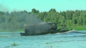 Esercito Games-2017 Concorso Tjumen'della via sicura La Russia video d archivio