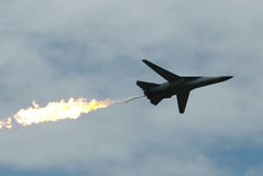 Esercito militare del combattente di jet Fotografie Stock