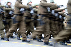 Esercito militare rumeno Fotografie Stock Libere da Diritti