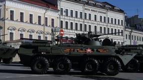 Esercito nella città Fotografia Stock Libera da Diritti