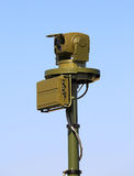 Esercito ottico e apparecchio elettronico Fotografie Stock Libere da Diritti