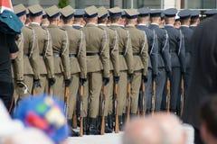 Esercito polacco Fotografia Stock