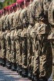 Esercito polacco in Bielsko-Biala, Polonia Fotografia Stock Libera da Diritti