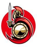 Esercito romano illustrazione vettoriale