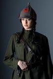 Esercito rosso Fotografia Stock