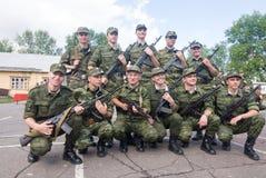 Esercito russo Fotografia Stock
