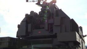 Esercito russo SA-15 guantone di protezione (TOR-M1) Sistema missilistico tattico di NMD video d archivio